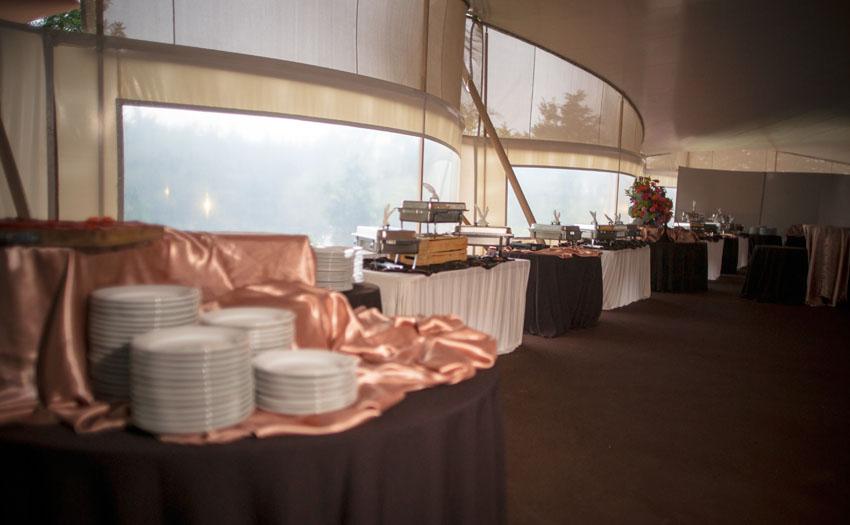 Buffet para eventos o servido en mesa Cocinarte Fine Catering Guatemala
