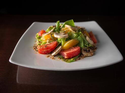 Platillo preparado por el chef Alvaro Meoño Cocinarte Fine Catering