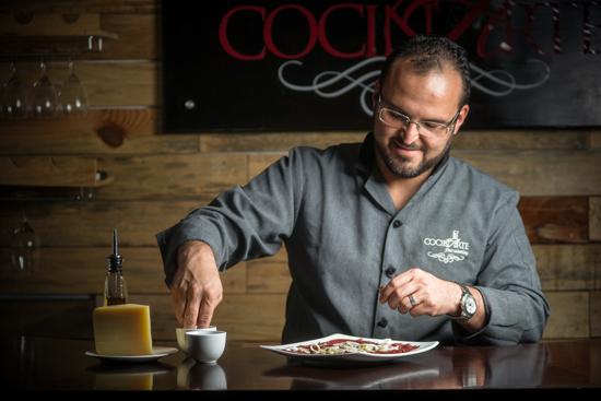 Chef Alvaro Meoño Cocinarte Fine Catering